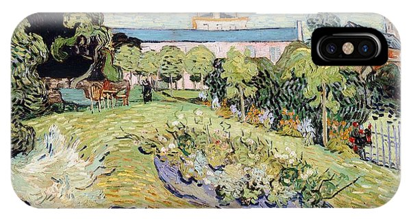 Van Gogh Museum iPhone Case - Daubigny's Garden by Vincent van Gogh