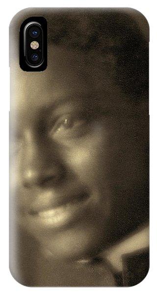 Fred Hampton iPhone X Case - Day Man, C1905 by Granger