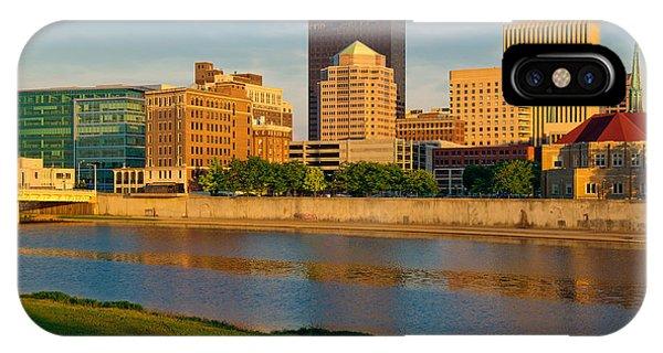 D4u-379 Dayton Skyline Photo IPhone Case
