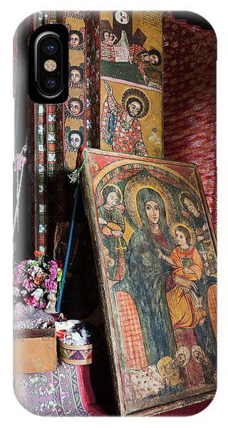 New Testament iPhone Case - Debre Berhan Selassie Church In Gonder by Martin Zwick