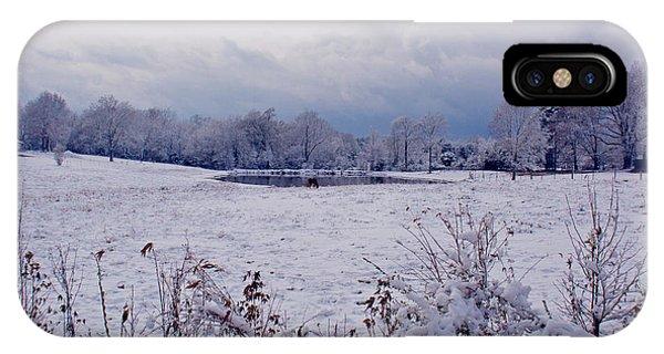 December Snow 005 IPhone Case