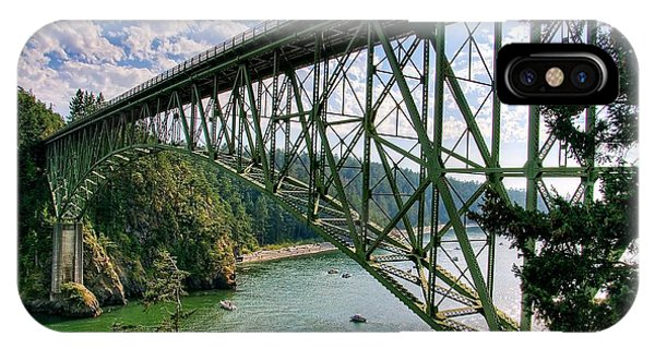 Whidbey iPhone Case - Deception Pass by Spencer McDonald