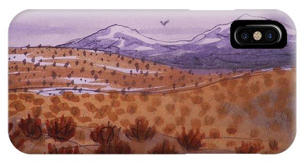 Desert Contrasts IPhone Case