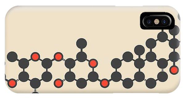 Digoxin Heart Failure Drug Molecule Phone Case by Molekuul