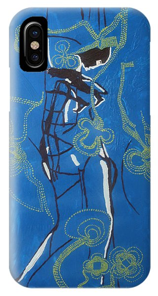 Dinka Painted Lady - South Sudan IPhone Case