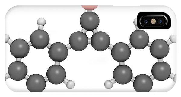 Diphencyprone Alopecia Drug Molecule Phone Case by Molekuul