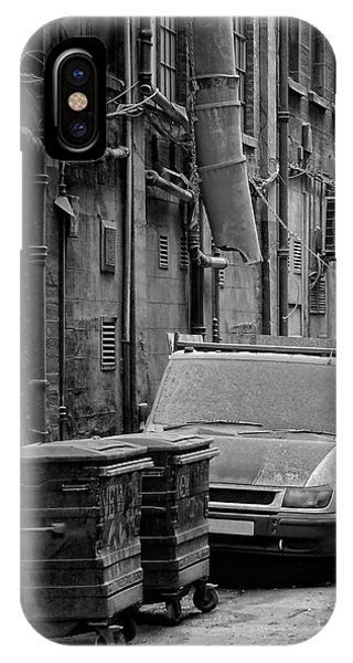 Dirty Back Streets Mono IPhone Case