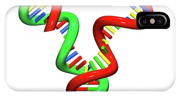 Synthesis iPhone Case - Dna Replication by Russell Kightley