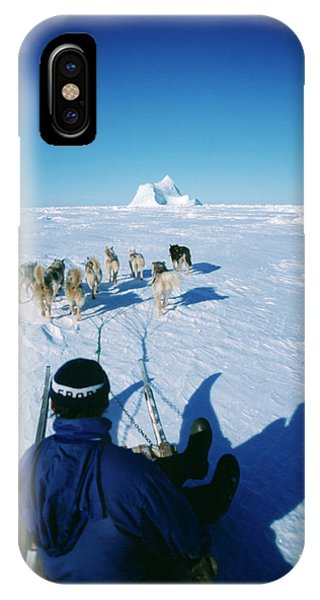 Sled Dog iPhone Case - Dog Sledding by Simon Fraser/science Photo Library