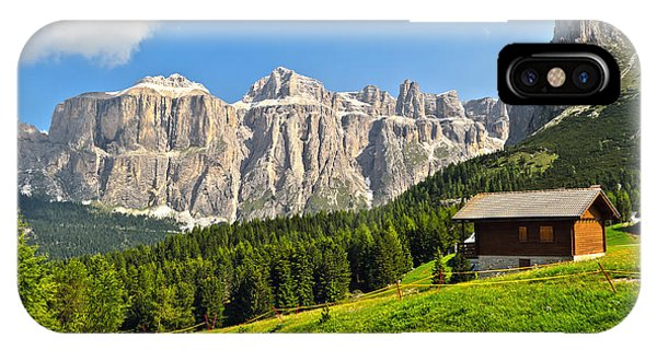 Dolomiti - High Fassa Valley IPhone Case
