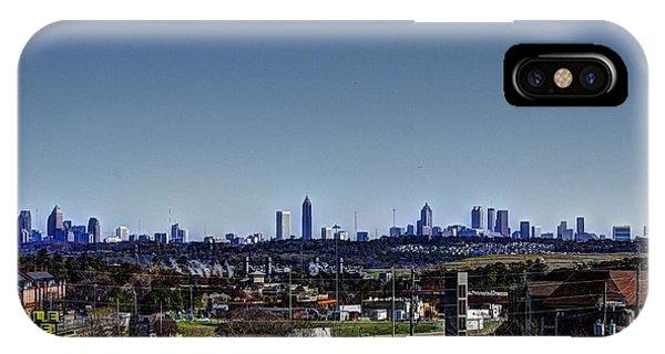Downtown Atlanta Phone Case by Jeffrey Ward