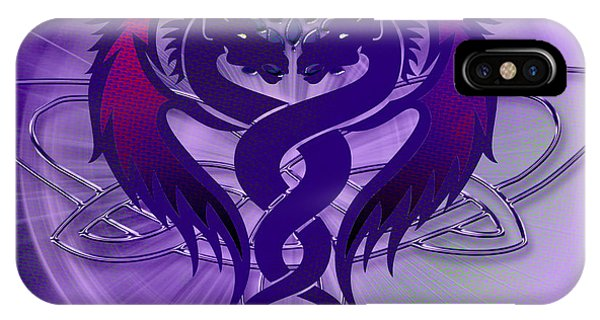Dragon Duel Series 4 IPhone Case