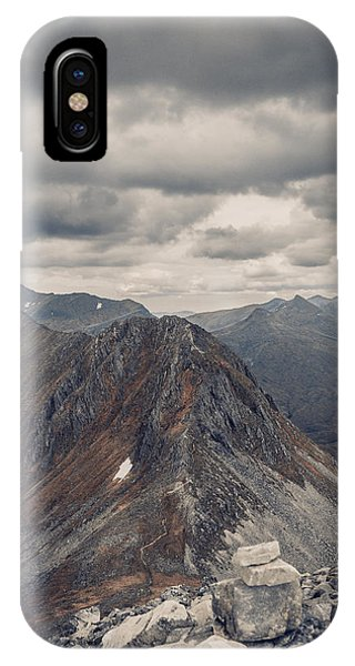 Dramatic Mountain Scenery In The Scottish Highlands Phone Case by Leander Nardin
