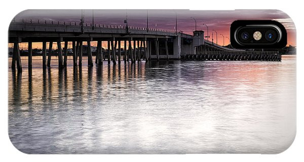 Drawbridge At Sunset IPhone Case