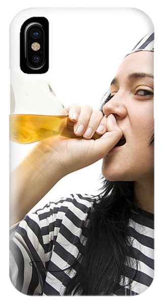 Drinking Detainee IPhone Case