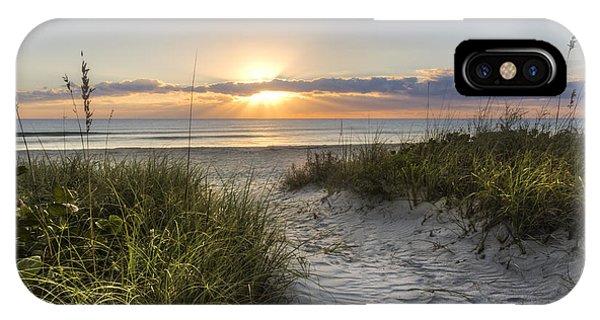 Boynton iPhone Case - Dune Trail by Debra and Dave Vanderlaan