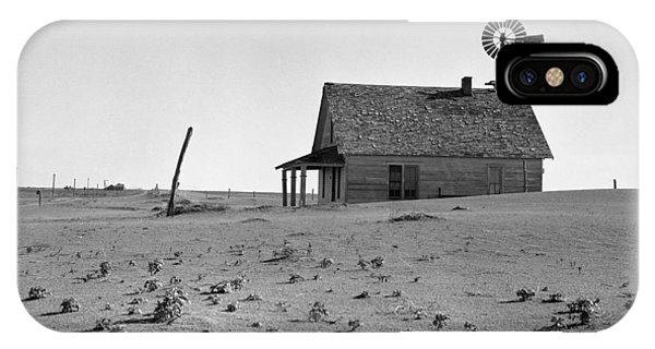 Texas iPhone Case - Dust Bowl, 1938 by Granger