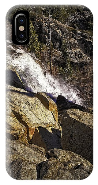 iPhone Case - Eagle Falls by Nancy Marie Ricketts