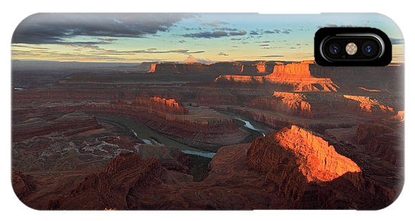 Early Morning At Dead Horse Point IPhone Case