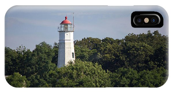 Eatons Neck Lighthouse IPhone Case