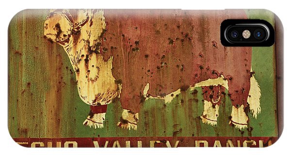 Echo Valley Ranch IPhone Case