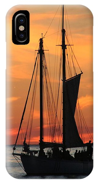 Edith M Becker At Sister Bay Marina IPhone Case