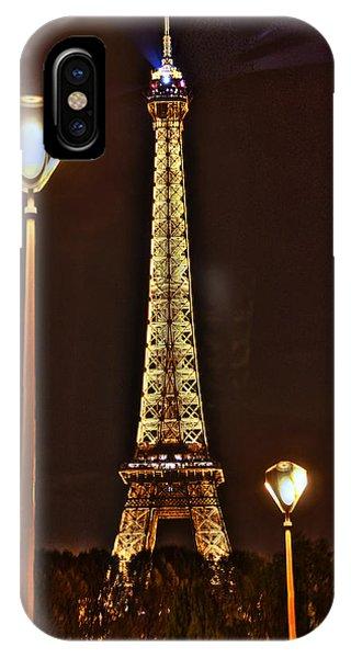 Eiffel Tower Phone Case by Steve Ellenburg
