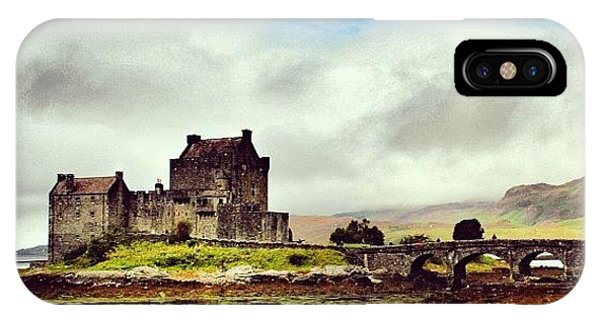 Fantasy iPhone Case - Eilean Donan Castle - Scotland by Luisa Azzolini