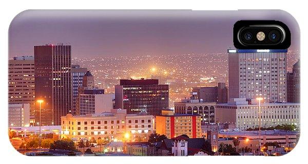El Paso Phone Case by Denis Tangney Jr
