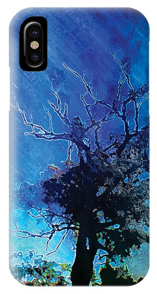 Electric Tree Phone Case by The Art of Marsha Charlebois