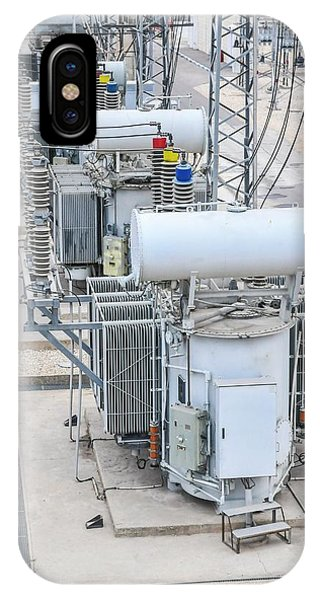 Electricity Transformation Substation IPhone Case