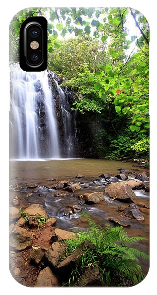 Far North Queensland iPhone Case - Ellinjaa Falls Is One Of Three Scenic by Paul Dymond
