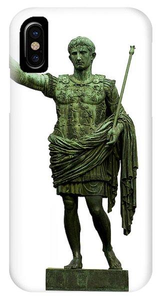 Emperor Caesar Augustus IPhone Case