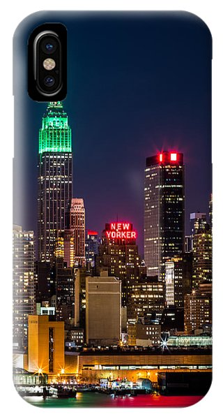 Empire State Building On Saint Patrick's Day IPhone Case