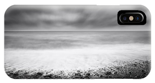Simple Landscape iPhone Case - Emptiness by Catalin Alexandru