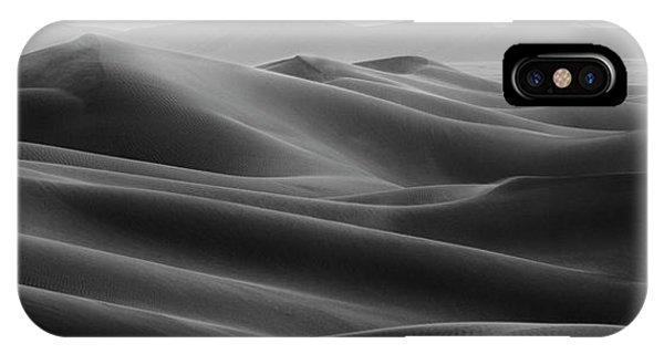 Panorama iPhone Case - Empty Quarter by Haitham Al Farsi