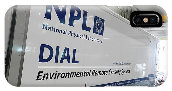 Npl iPhone Case - Environmental Remote Sensing System by Andrew Brookes, National Physical Laboratory