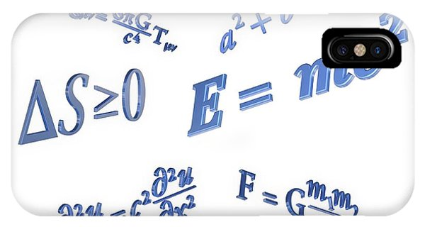 Equations Phone Case by Alfred Pasieka