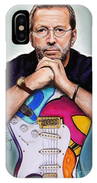 Eric Clapton iPhone Case - Eric Clapton by Melanie D