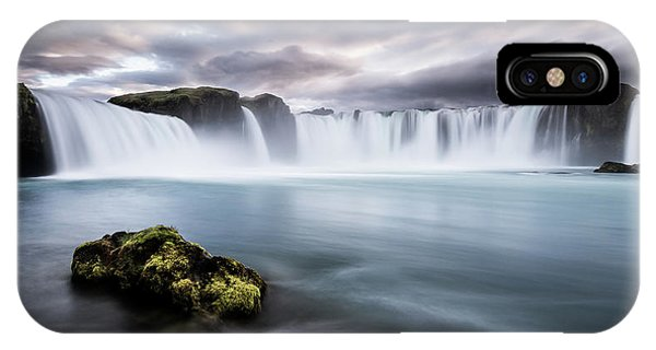 River iPhone Case - Eternal Flow by Andreas Wonisch