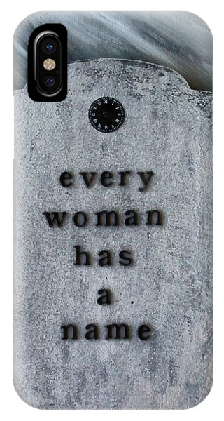 Alice Cooper iPhone Case - Every Woman Has A Name by Angelina Tamez