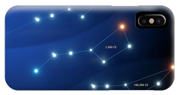 Evolution Of The Big Dipper Asterism Phone Case by Mark Garlick