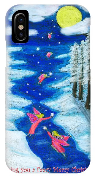 Faery Merry Christmas IPhone Case