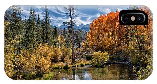 Fall At Bishop Creek IPhone Case