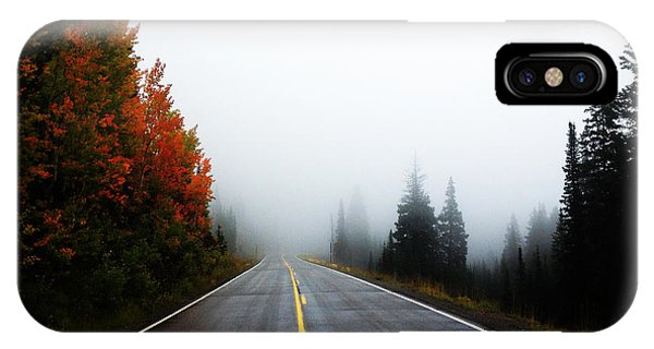 IPhone Case featuring the photograph Fall Drive by Kate Avery