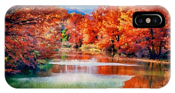 Fall On The Guadalupe Wc IPhone Case