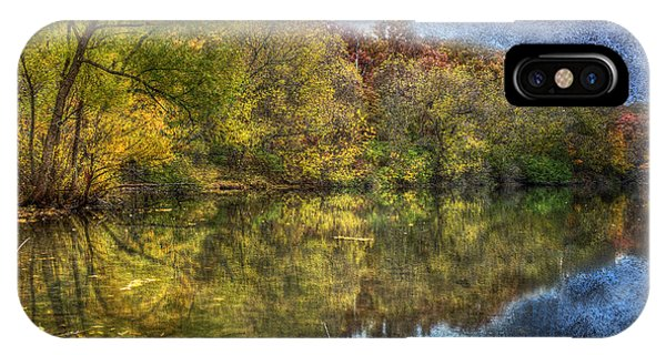 Fall Reflections IPhone Case