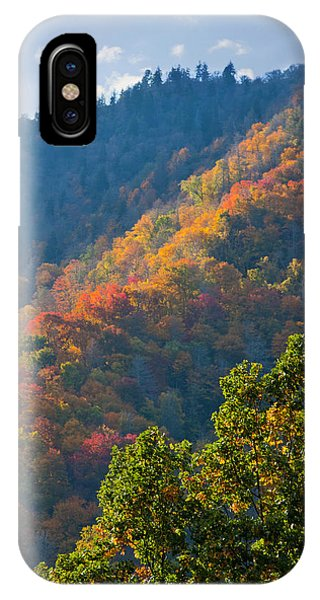 Fall Smoky Mountains IPhone Case