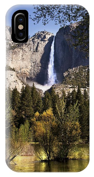 Falls Yosemite National Park  IPhone Case