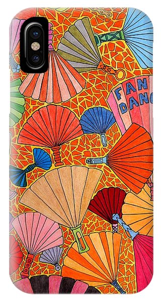 Fan Dance IPhone Case